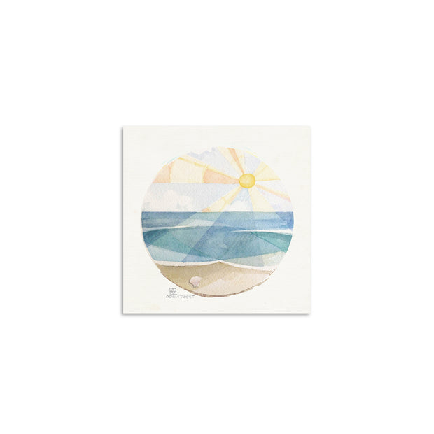 Adam Trest Tiny Art | Beach Sun Print