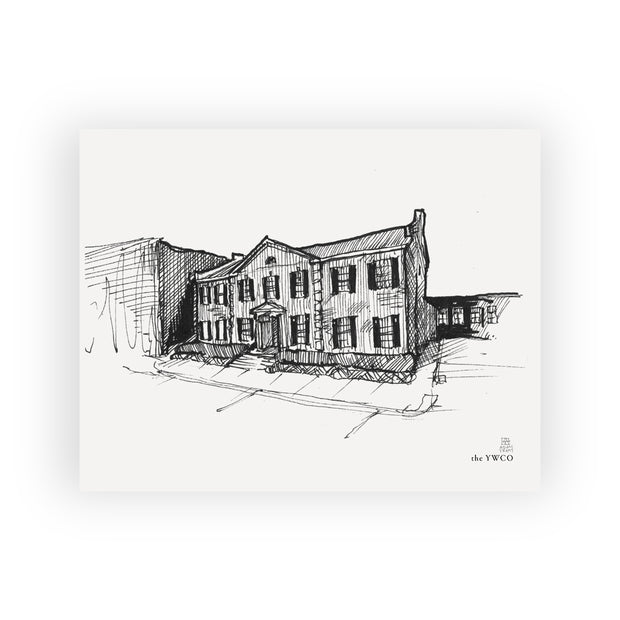 Adam Trest Laurel Landmarks | The YWCO Print
