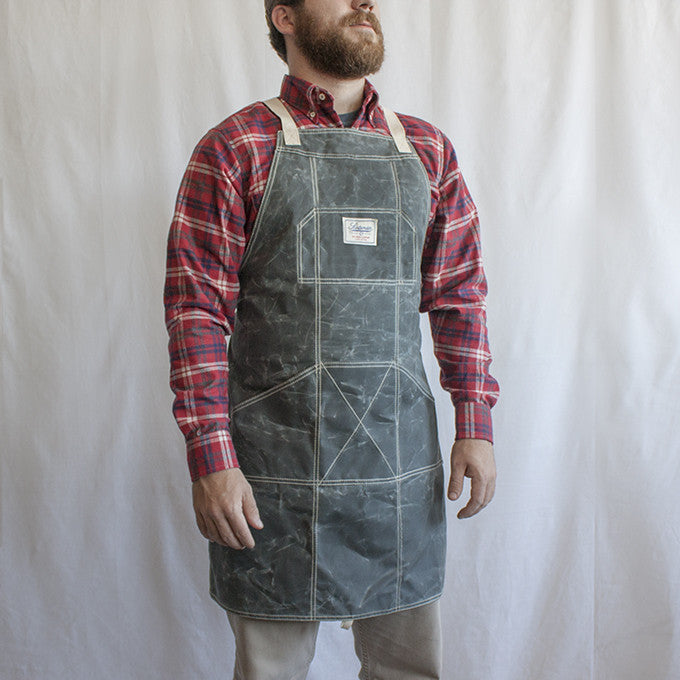 Scotsman Woodworkers Apron Laurel Mercantile Co