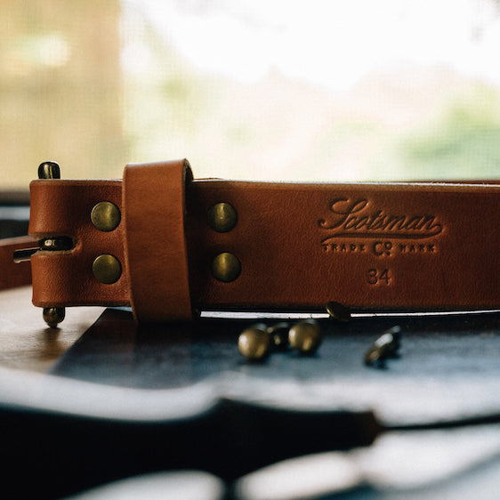 Scotsman Leather Handmade Belt