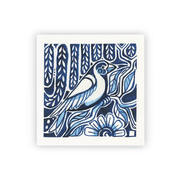 Adam Trest Blue Willow | Song Bird 3 Print