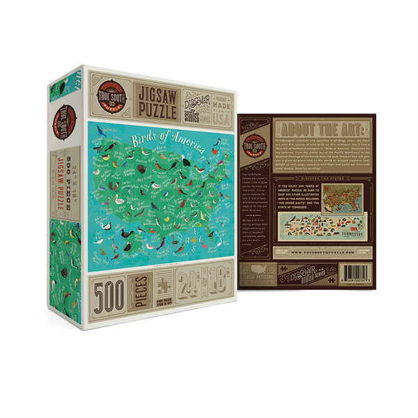 True South Birds of America Puzzle