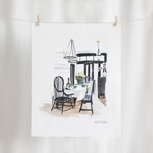 Dining Room Watercolor