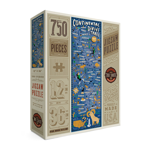 True South Continental Divide Trail Puzzle