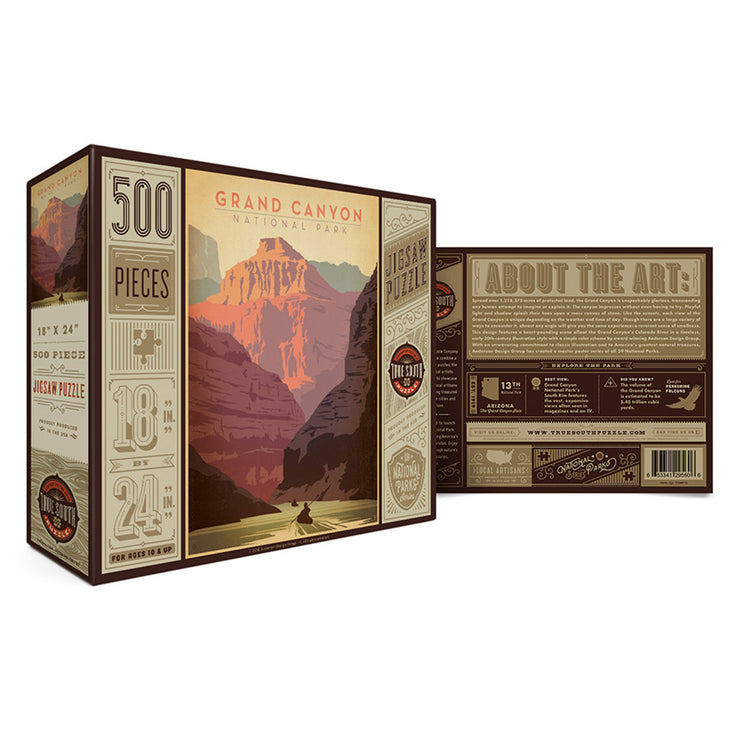 True South Grand Canyon Puzzle