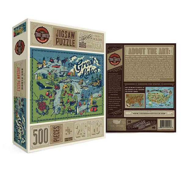 True South Great Lakes Puzzle