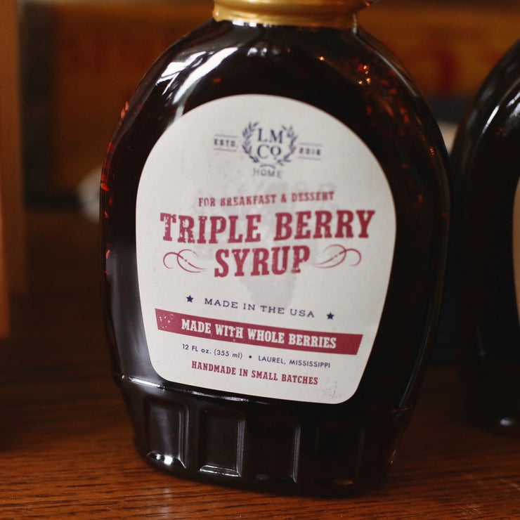LMCo. Triple Berry Syrup