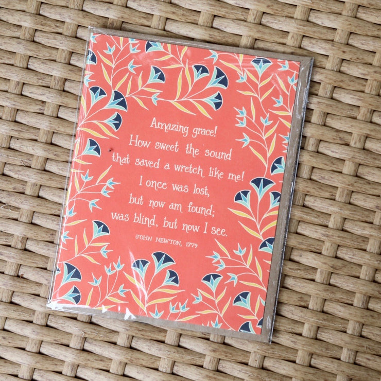 Amazing Grace Greeting Card