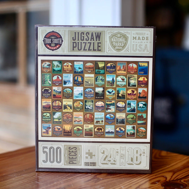 True South National Parks Patches Puzzle