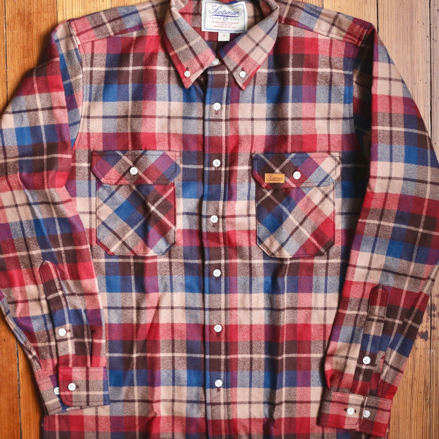 Scotsman Co. Rust Traditional Flannel