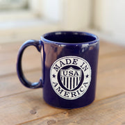 Scotsman USA Badge Mug