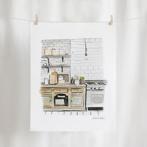 Kitchen Watercolor (11