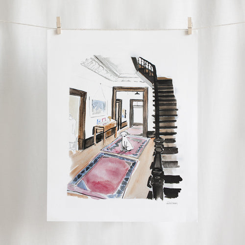 Foyer Watercolor (11