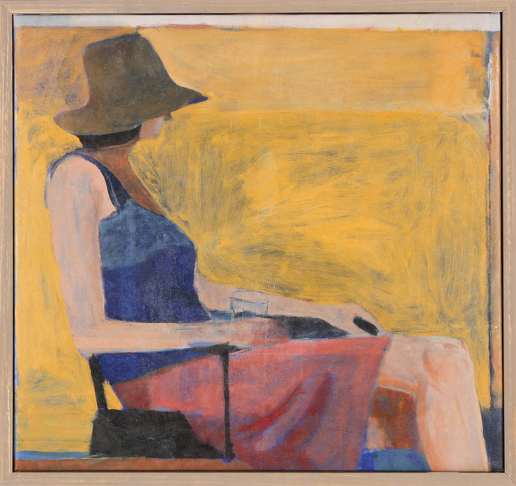 Seated Figure Canvas