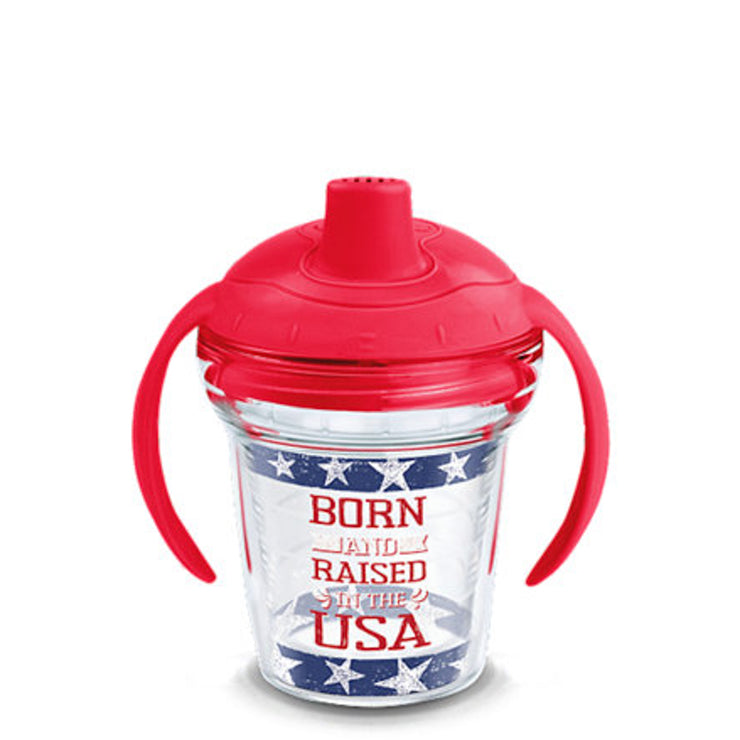Born and Raised in the USA Tervis Sippy Cup