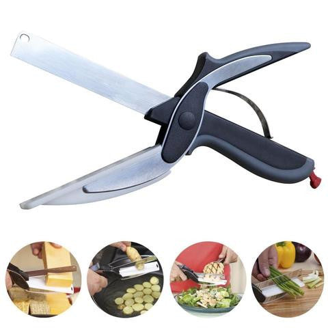 2 in 1 Intelligent Kitchen Knife