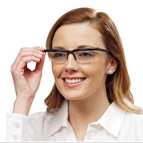 PERFECT VISION: ADJUSTABLE DIAL EYEGLASSES