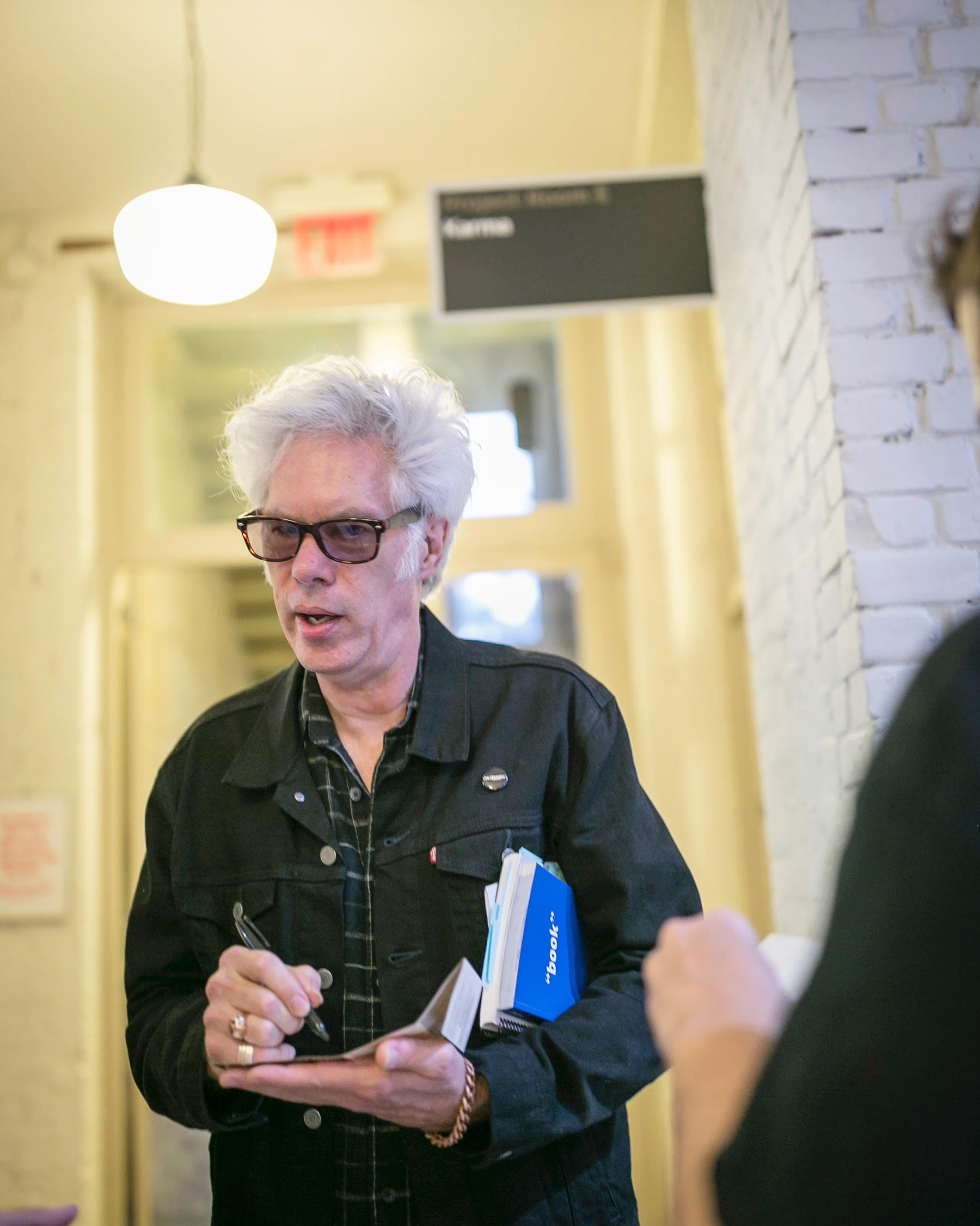 "Jim Jarmusch co-signs ""book"""