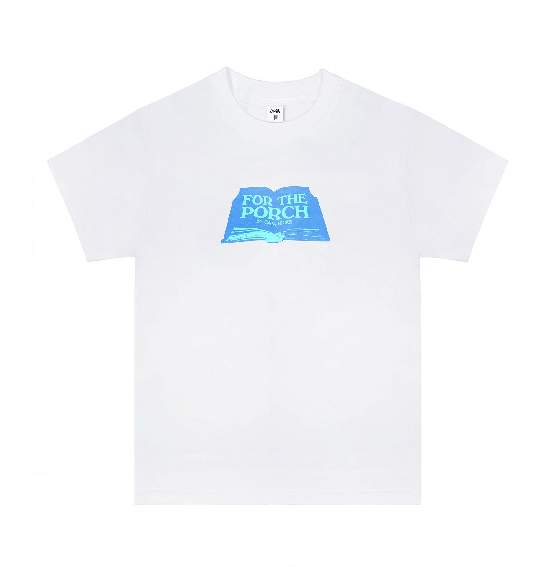 FOR THE PORCH T-SHIRT [BLUE]