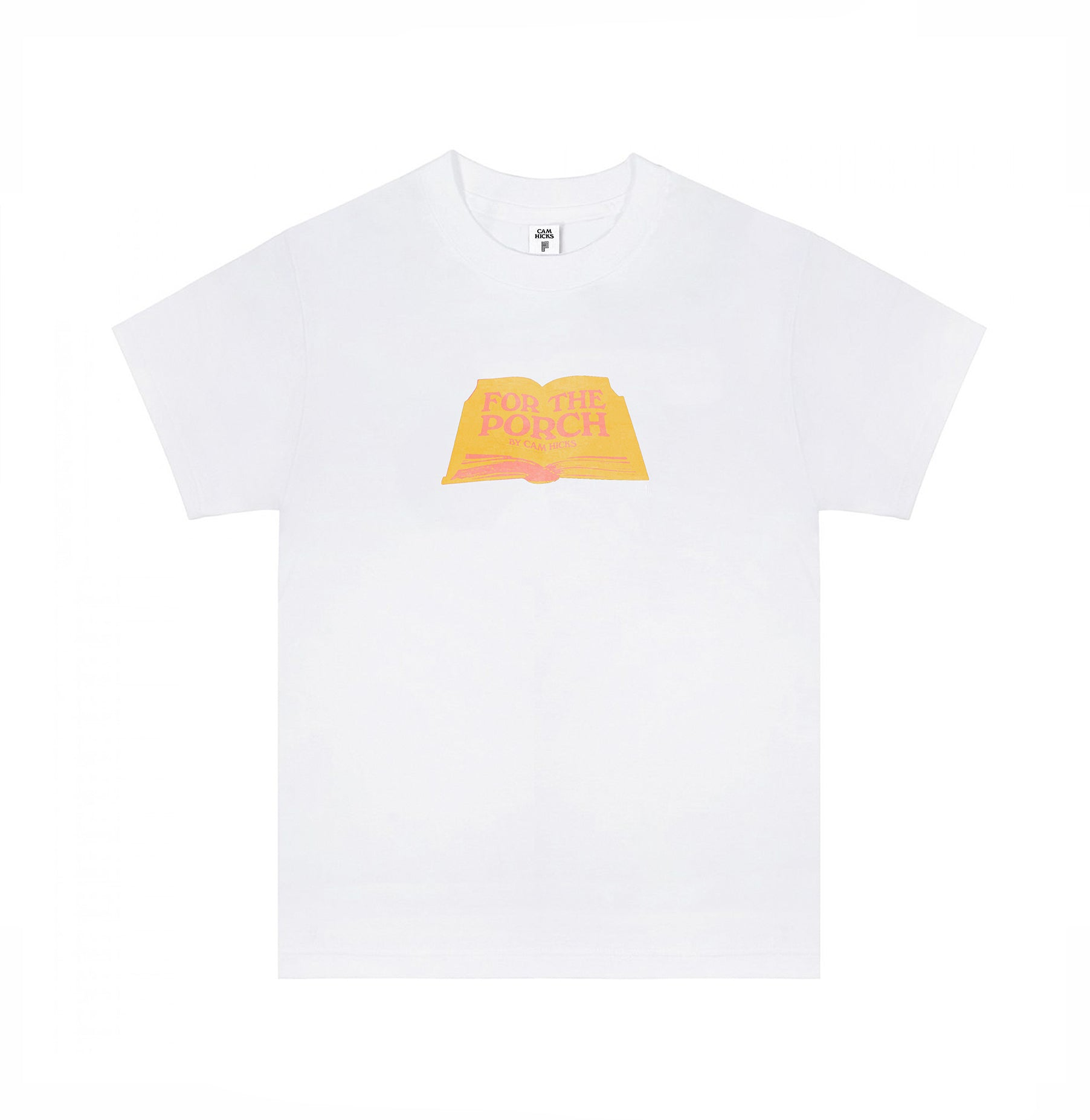 FOR THE PORCH T-SHIRT [YELLOW]