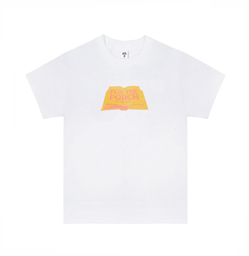 FOR THE PORCH - CAM HICKS T-SHIRT [YELLOW]