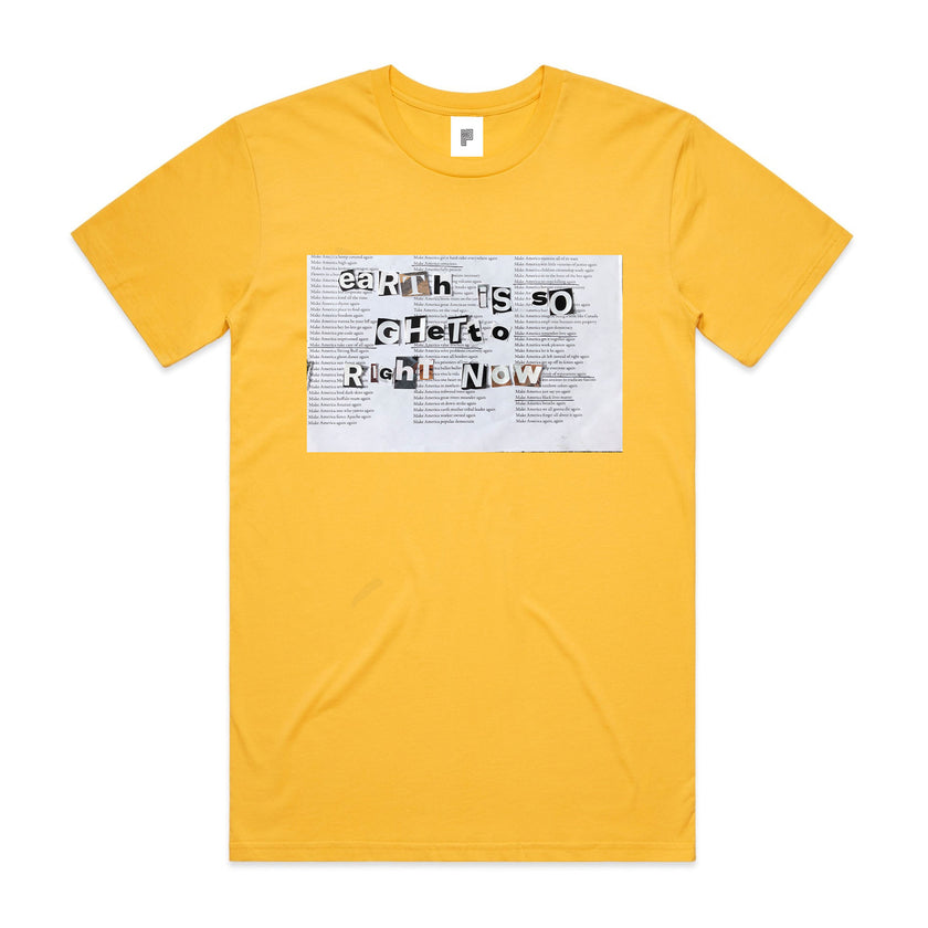 EARTH IS SO - BEATRICE DOMOND T-SHIRT [YELLOW]