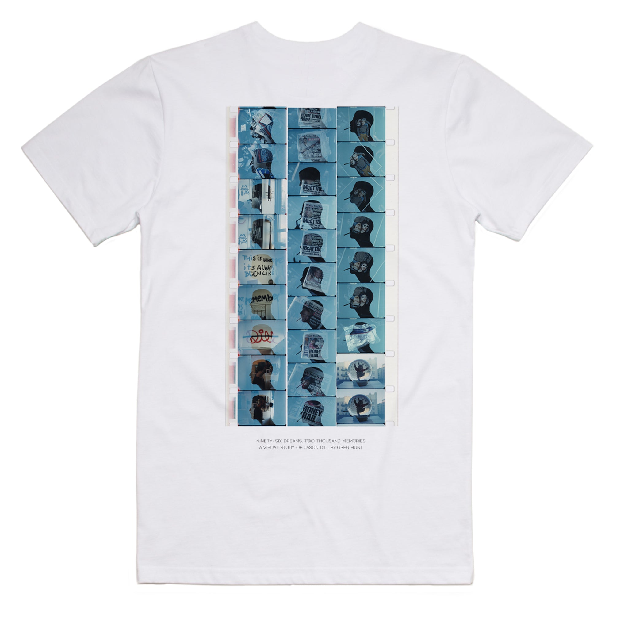 NINETY SIX DREAMS, TWO THOUSAND MEMORIES - GREG HUNT T-SHIRT