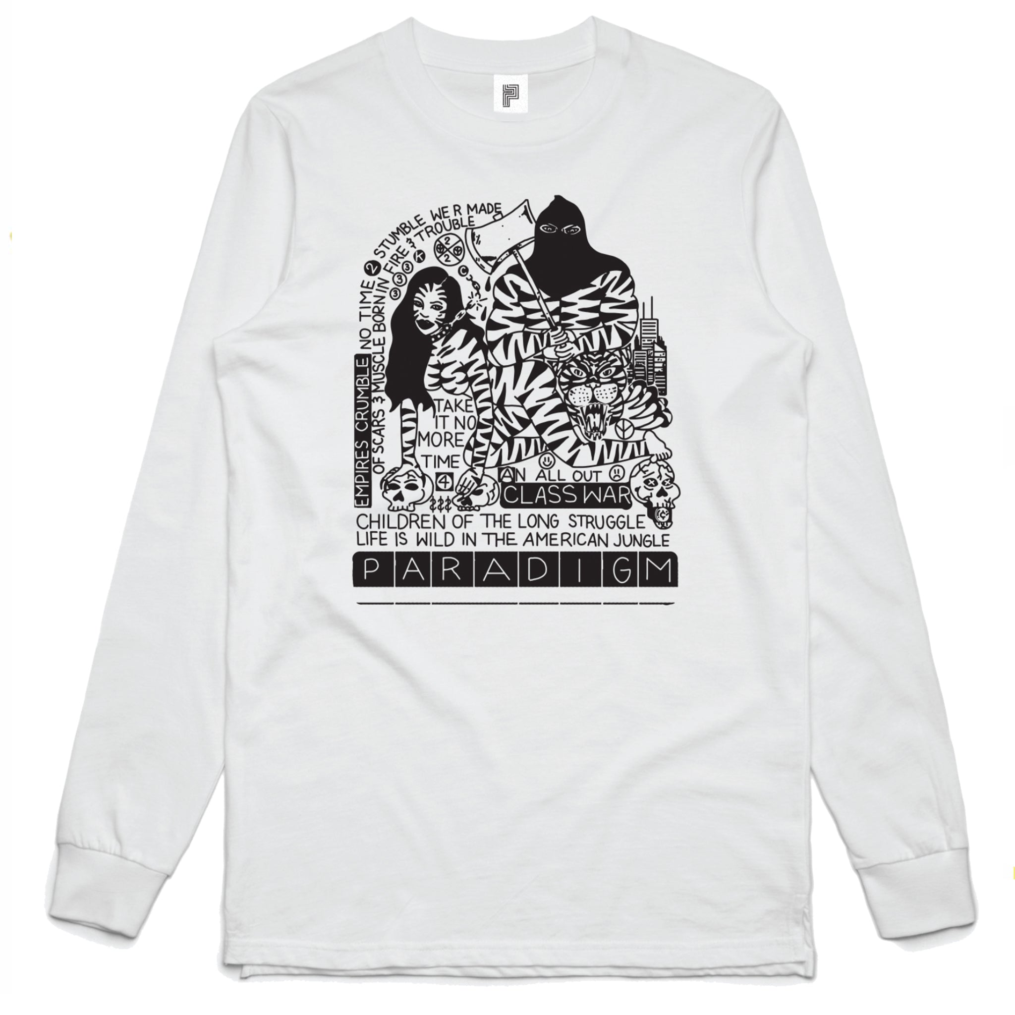 CLASS WAR - KC ORTIZ LONG SLEEVE SHIRT