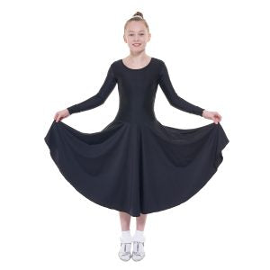 Tappers & Pointers Long Sleeved Plain Front Dress BALLROOM 5