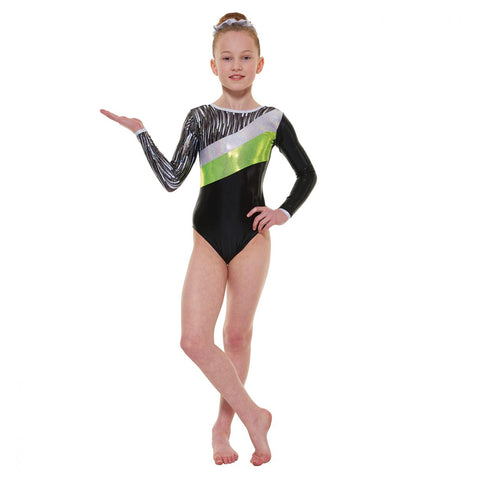Tappers & Pointers Long Sleeved Gymnastics Leotard GYM/44