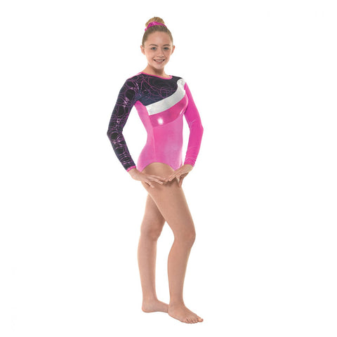 Tappers & Pointers Long Sleeved Gymnastics Leotard GYM/31