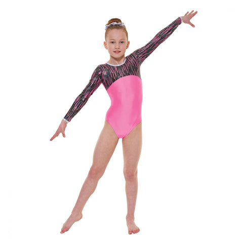 Tappers & Pointers Long Sleeved Gymnastics Leotard GYM/46