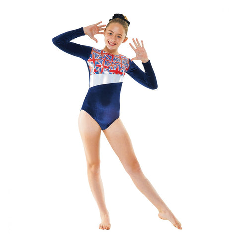 Tappers & Pointers Long Sleeved Gymnastics Leotard GYM/26