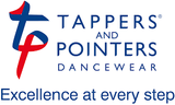 Tappers & Pointers Hip/Coral Gymnastics Shorts