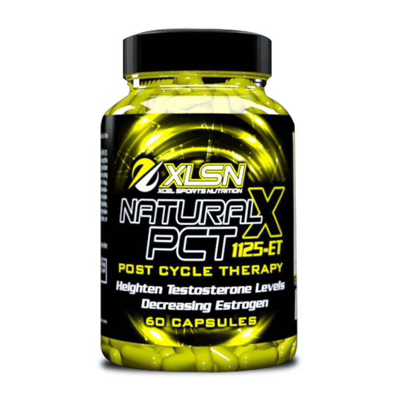 Xcel Sports Nutrition Natural X PCT