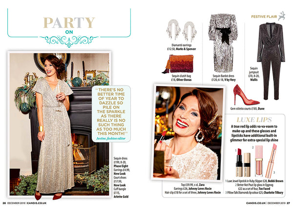 Arlette Gold spotted in Candis Magazine