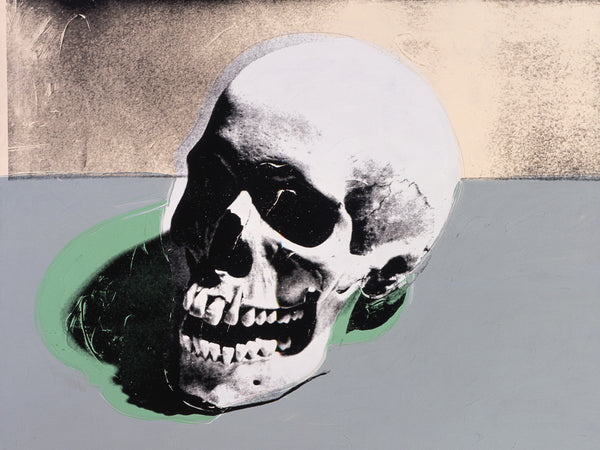 Andy Warhol's Skulls - skulls in fashion - skull jewellery - significance of skulls