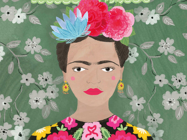 The iconic Frida Kahlo