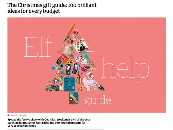 Arlette Gold Spotted in The Guardian Weekend's Online Christmas Gift Guide