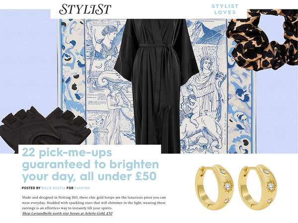 Arlette Gold spotted in Stylist Online!