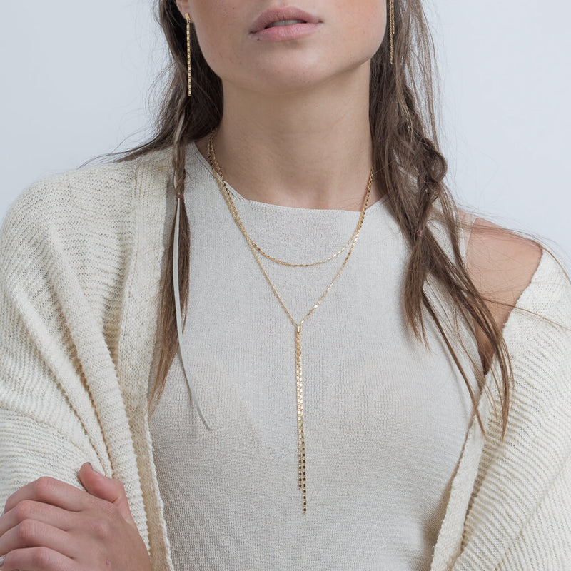 Emma Necklace Gold - Necklace - Shlomit Ofir - Jewellery - Arlette Gold