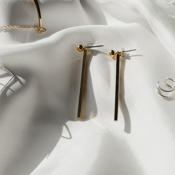 Straight Jacket Earrings