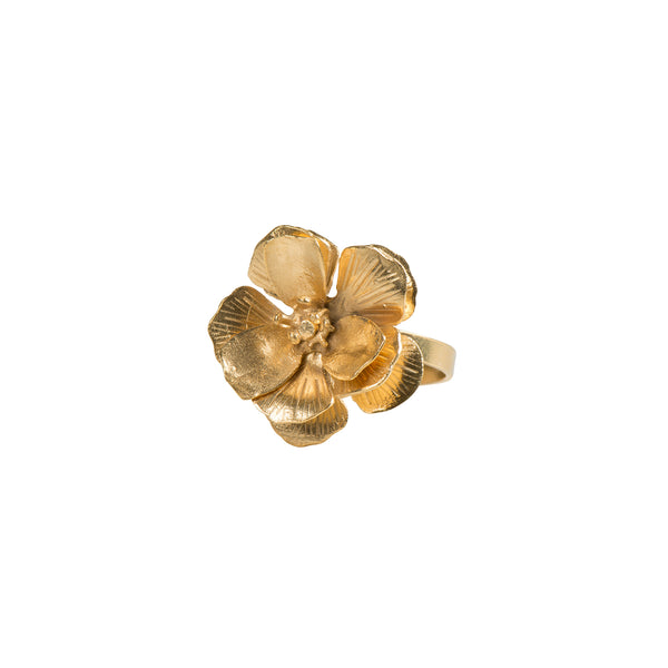 3D Flower Ring - Ring - Sara Chyan - Jewellery - Arlette Gold