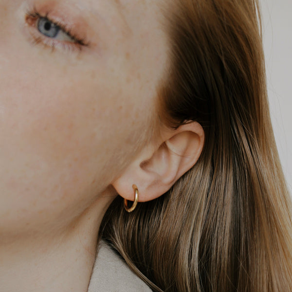 Silver Madison Hoops