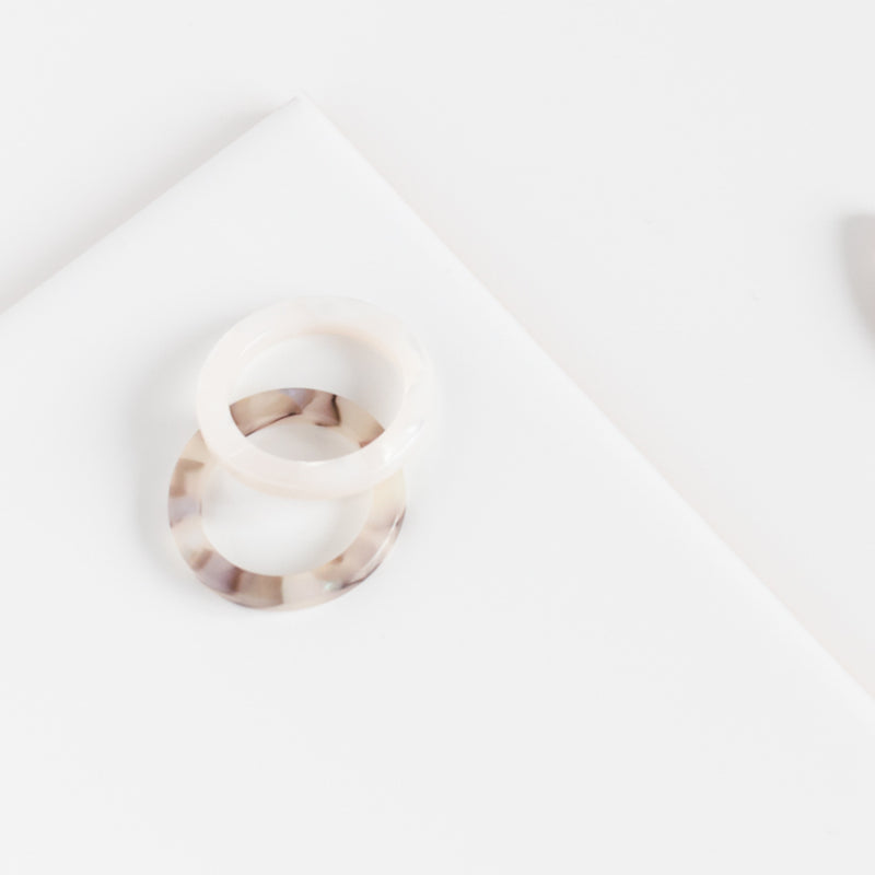 Amparo Ring - Lisbon Shell