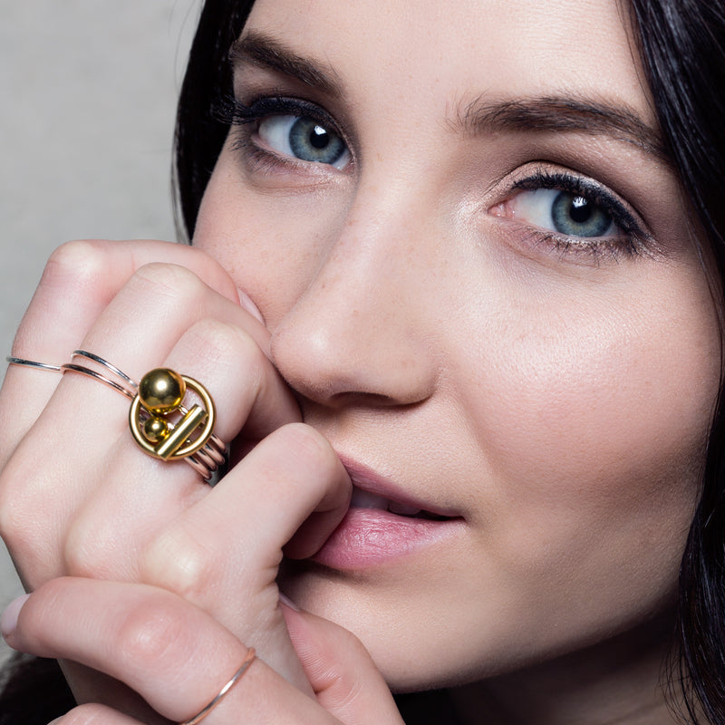 Puzzle Ring - Ring - High Society Collection - Jewellery - Arlette Gold