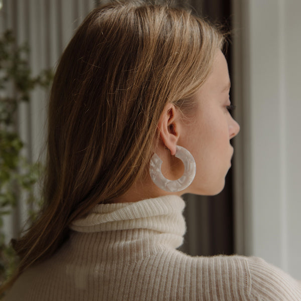 Ananda Earrings - Reykjavik Ice