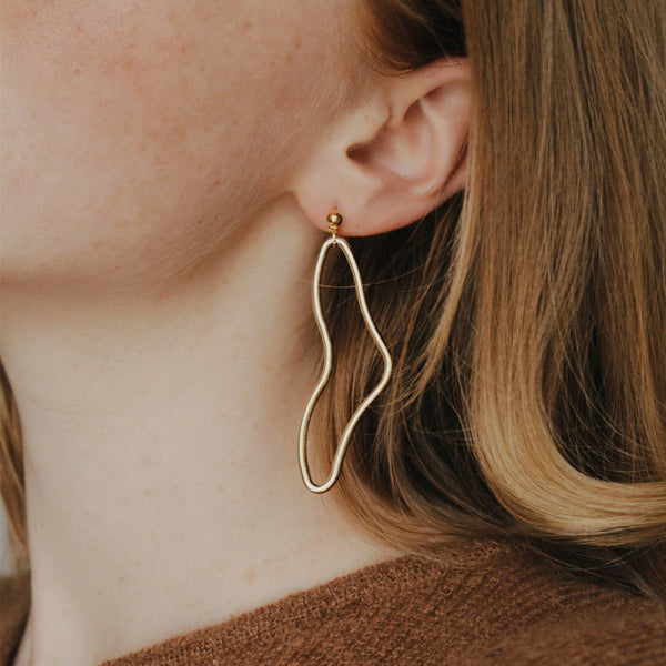 Gold Valentina Earrings