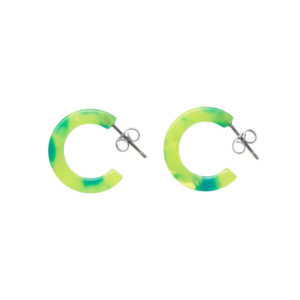 Anaïs Earrings - Malibu Lime
