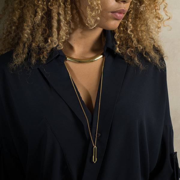 Alis Necklace Steel - Necklace - Promises Promises - Jewellery - Arlette Gold